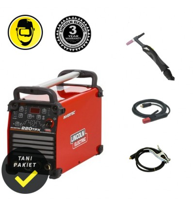 Spawarka TIG Lincoln Electric Invertec 220 TPX - zestaw - Lincoln Electric - image 1
