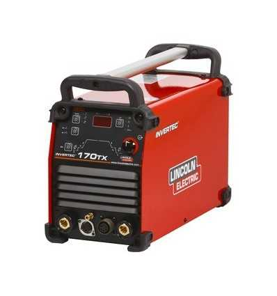 Spawarka TIG Lincoln Electric Invertec 170TX
