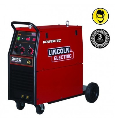 Spawarka MIG/MAG Lincoln POWERTEC 305C 4R - Lincoln Electric - image 1